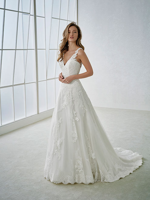 Fabi rochii de mireasa cu trena cluj Colectia White One